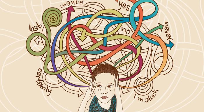 Neue Forschung sagt, dass zuviel Denkende wahrscheinlich kreative Genies sind!
