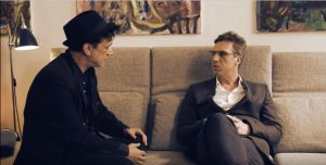 Mike Hellwig und Jens Böttcher im Gespräch