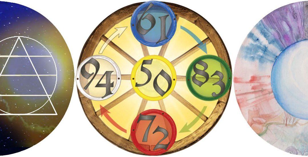 Kreativworkshop – Numerologie, Zahlenrad, Astrologie, Farben und Formen – mach mit!